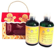 Naturally Pampered Gingerbread Bath and Body Gift Set