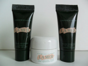La Mer Skincare Set 3 pcs(The Moisturising Cream .1 oz/ 3.5 ml, The Eye Concentrate .1 oz / 3ml) Deluxe Travel Size.