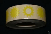 Sunburst Tanning Stickers 1000 CT Roll