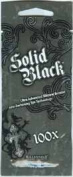 Solid Black Tanning Lotion Packet