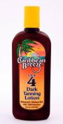 Caribbean Breeze-SPF 4 Dark Tanning Lotion, 8.5 oz