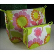 Clinique Floral Cosmetic Bags