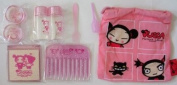 Funny Love Pucca & Garu Cosmetic Set w Drawstring Bag