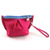 Vibrant Cosmetic Bag / Mini Clutch - Magenta