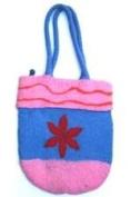 Earth Divas NFP-26-137 Bright and Beautiful Wool Shoulder Bag