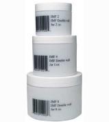 White Plastic Jar With Lid 120ml