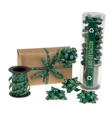 Wrapper's Delight ribbon and bow kit - Recycled Gift