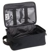 Household Essentials Grooming Travel Bag Organiser, Black
