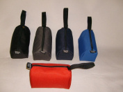 Toiletry Bag,mini Shaving Bag, Water Resistance Poly, Made in U.s.a.
