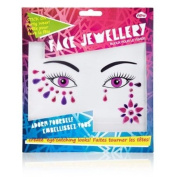 Face Jewellery - Pink & Purple
