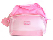 Rucci Cosmetic Bag with Scarf, Pink