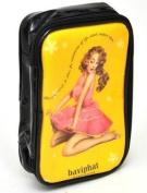 KOREAN COSMETICS, Baviphat_ Poppy bag pouch (110x170x50) (portable, enamel)[001KR]