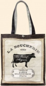 Fiddler's Elbow Charcuterie OIL Cloth Tote Bag Cow