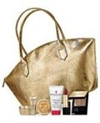 ELIZABETH ARDEN Cosmetics Tote Bag +6 Pieces Cosmetics Gift .