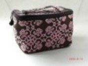 Trunk Flower Bag with Zipper Travel Size