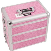 Professional Cosmetic Makeup Case with Divider and Interchangeable Stackable Tray Colour