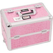 Professional Cosmetic Makeup Case with Divider and Interchangeable Easy Slide and Extendable Tray Colour