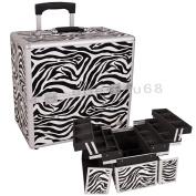 Zebra Cosmetic Case