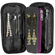 Travel Smart by Conair Quilted Jewellery Organiser