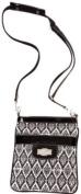 Broadway Black Sidekick * Flaunt Handbag NWT Patent Liquid Gloss 92051