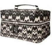 Missoni for Target Train Case Luggage Bag - Black White Zig Zag Famiglia