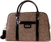 Safari Chic Weekend Bag * Flaunt Handbag NWT Patent Liquid Gloss 92066