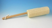 Loofah Back Brush with Large 20.3cm Loofah