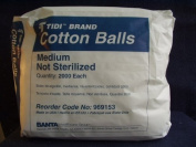 Cotton Balls, Medium (2000/pk)