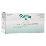 Puritan Sterile Cotton Tip Applicators 6'' 100 Pks Of 2