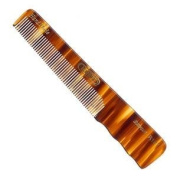 Kent Hand-Made 140mm All Fine Pocket Comb With Thumb Grip - R18T