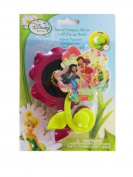 Tinkerbell Compact Mirror With Brush - Disney's Fairies Pop Up Brush