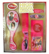 Disney High School Musical Hair Care Set - 5pcs HSM Hair Brush and accessories