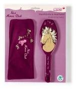 Nici Gift Set Hair Band and Brush Horse