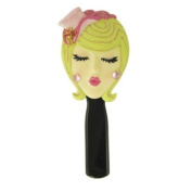 . Hairbrush Blonde with Hat Pink 22.2cm L