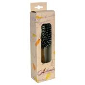 Fuchs Child/ Adult Toothbrushes Hairbrush Pneumatic Oval Oak Handle