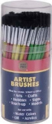 Merit Pro Pony Hair Brush Cylinder With 144 Artist Brushes