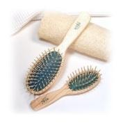 Widu Ash Wood Bristle Hairbrushes Small Oval