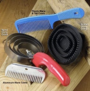 Weaver Leather LARGE BLACK RUBBER CURRY COMB