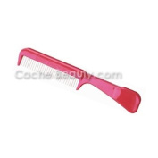 The Hair Doctor Comb* With Handle * With Rotating Teeth * Assorted Colours