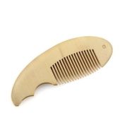 Crystalmood Carved Seamless Boxwood Pocket Hair Comb Fish