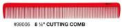iTech 21.6cm Cutting Ceramic Carbon Comb Static- + A-Viva Magic 4 Sided Nail Buffer