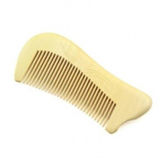 Crystalmood Relief Carved Seamless Boxwood Hair Comb Pawn 11.4cm
