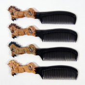 Wholesale Pack Handpainted Assorted Horse Comb