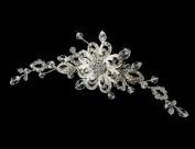 Mirella. Crystal Wedding Bridal Hair Comb