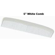 Disposable White 12.7cm Plastic Comb - Case Pack 720 SKU-PAS572977