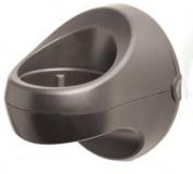 Jerdon HDC1 Wall Caddy for Hair Dryers, 7.6cm Diameter Opening, Black