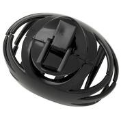 DCNL Black Large Round Hair Clip