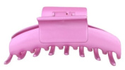 Caravan Classic Rounded Teeth Hair Claw in Satin Colour Finsh Square Handle To Open