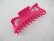 Large Claw Hair Clips Jumbo Hair Clips (Pink) 12.7cm