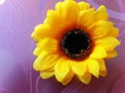 SunFlower Hair Clips.woman party Artificial Flower Hair accesories .bridal bridesmaid sweet 16!!!